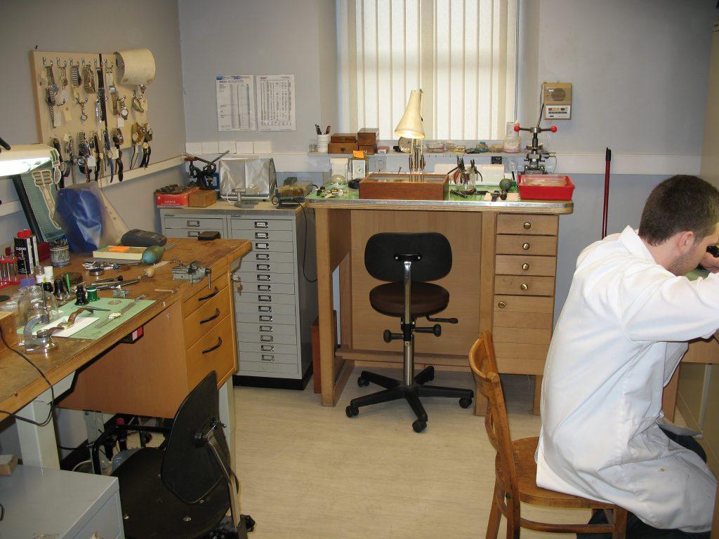 Robert Adair Jewellers Workshop - Ballymena